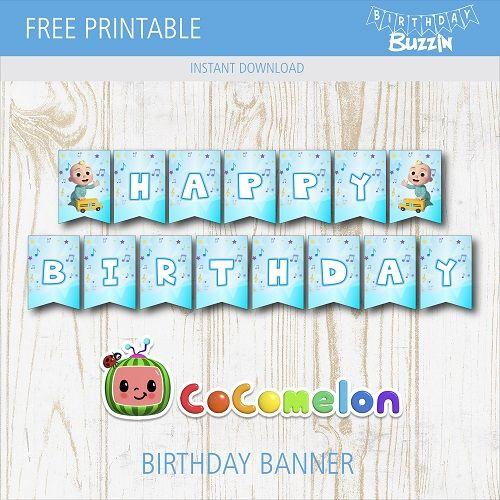 free printable cocomelon birthday