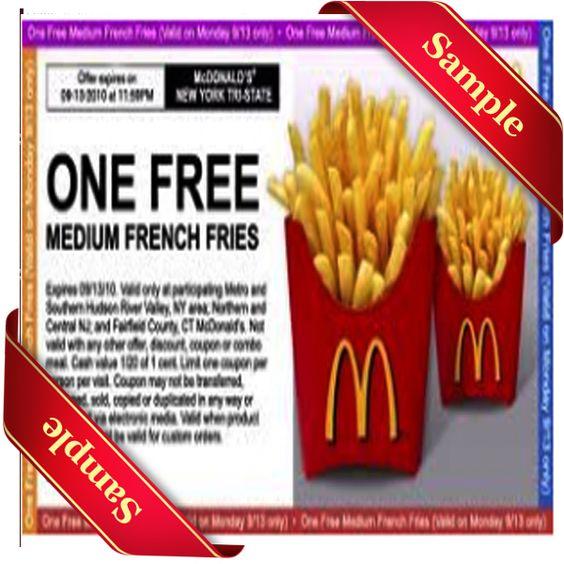 Mcdonalds december coupons