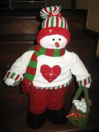 navideos nieves muecos de navidad tela buscar en tela fanny monos bellos bricolaje trabajos