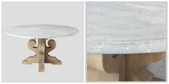 mesa comedor zincmesa madera restaurada mesa de comedor diferente mesa de comedor elegante mesa de comedor madera diferente