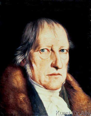 Jacob Schlesinger - Portrait of Georg Wilhelm Friedrich Hegel (1770-1831), 1825