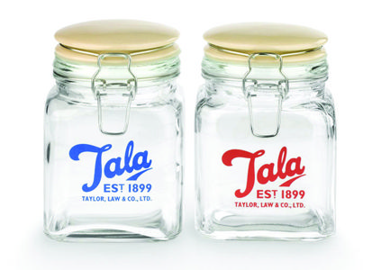 Vintage 1960s Glass Jars 750ml Box of 6 http://www.zoomspares.co.uk/?Action=ShowItem&ZPID=10009279&Item=TALA+1960S+750ML+VINTAGE+STORAGE+JARS