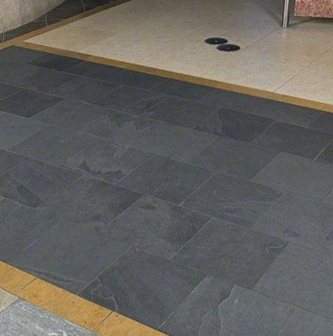 Montauk 12 X 12 Slate Field Tile Tiles Flooring Basement Decor