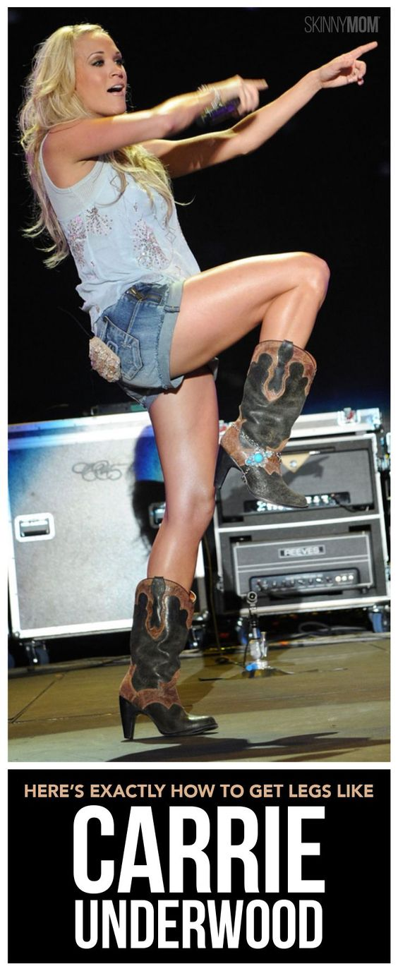 Here's Exactly How to Get Legs Like Carrie Underwood