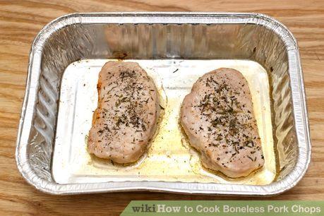 Image titled Cook Boneless Pork Chops Step 12