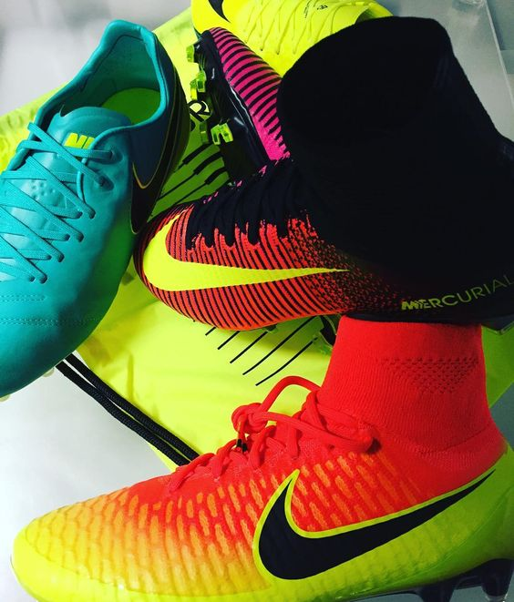 Coming soon from Nike Soccer! The Spark Brilliance Pack!