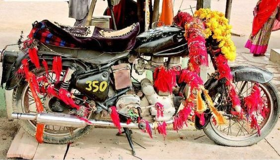 Motorcycle Temple Ripleys Believe It Or Not Unusual Travel Destinations In India India
