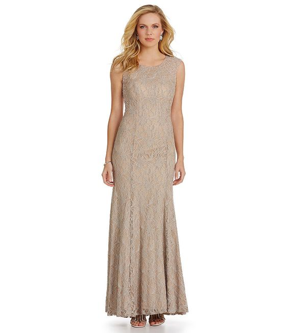 Gowns- Illusions and Lace on Pinterest