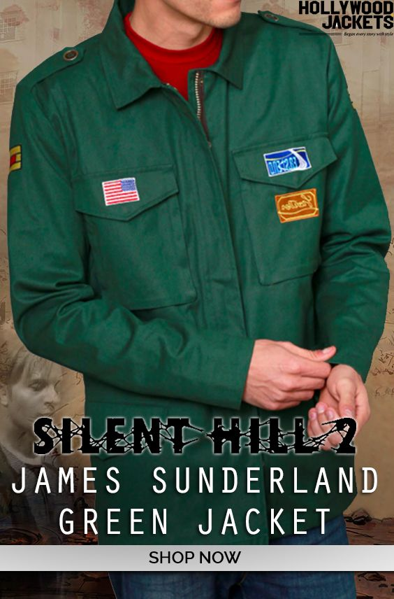James Sunderland Silent Hill 2 Jacket Jackets Jacket Shop