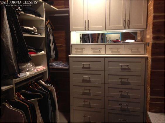 Love a cedar-lined closet! #CaliforniaClosets #dreamcloset #interiordesign #homeorganization