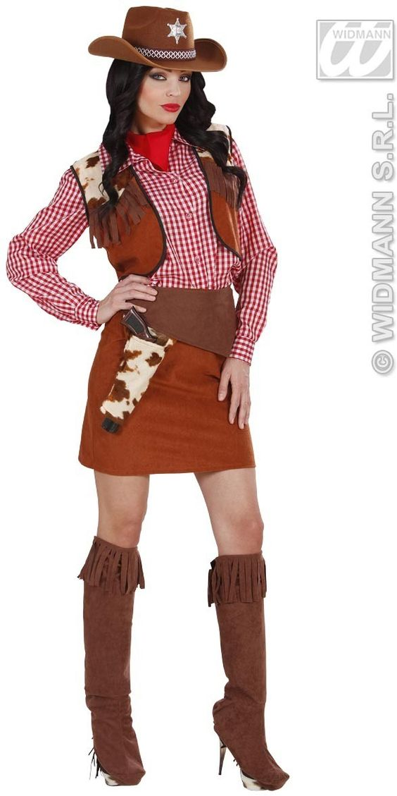 Cowgirl Costume Ideas For Women | Cowgirl Costume | World Traditional Attires | Pinterest ...