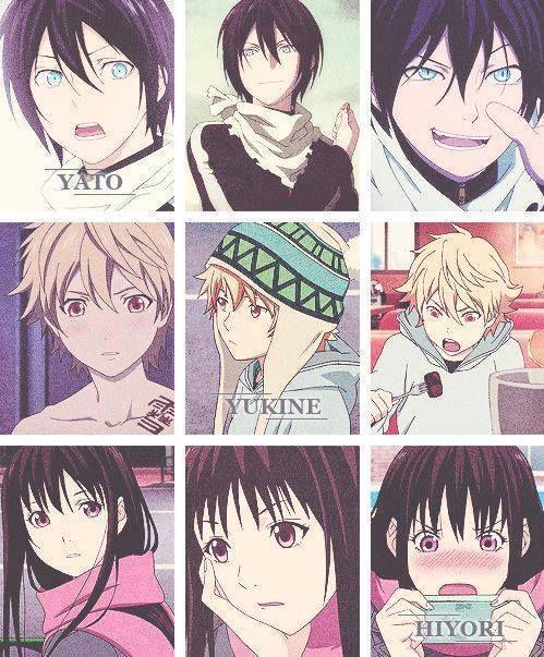 Yato, Yukine and Hiyori* | Noragami | Pinterest | Stagioni ...