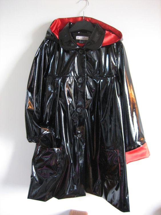 Commande spéciale : mon bel imper en ciré ! : Manteau, Blouson, veste par…