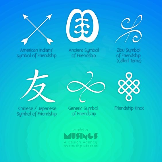 Friendship-Symbols.png (1000×1000)                              …