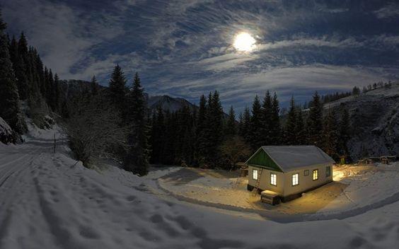 scenes of snow in georgia | reminds me of alaska | Snow Scenes