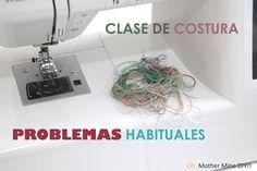 Clase de costura: Atascos de la máquina de coser y problemas habituales