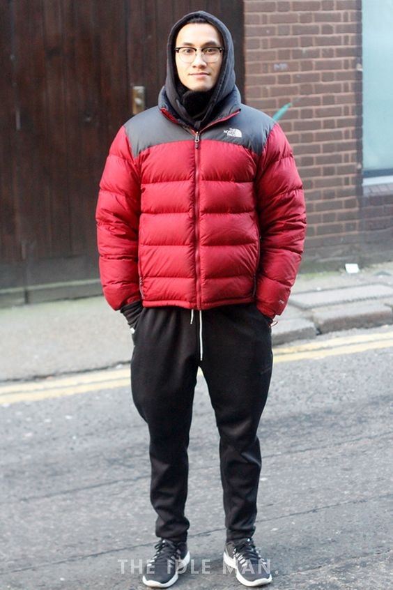 Men's Street Style - The North Face