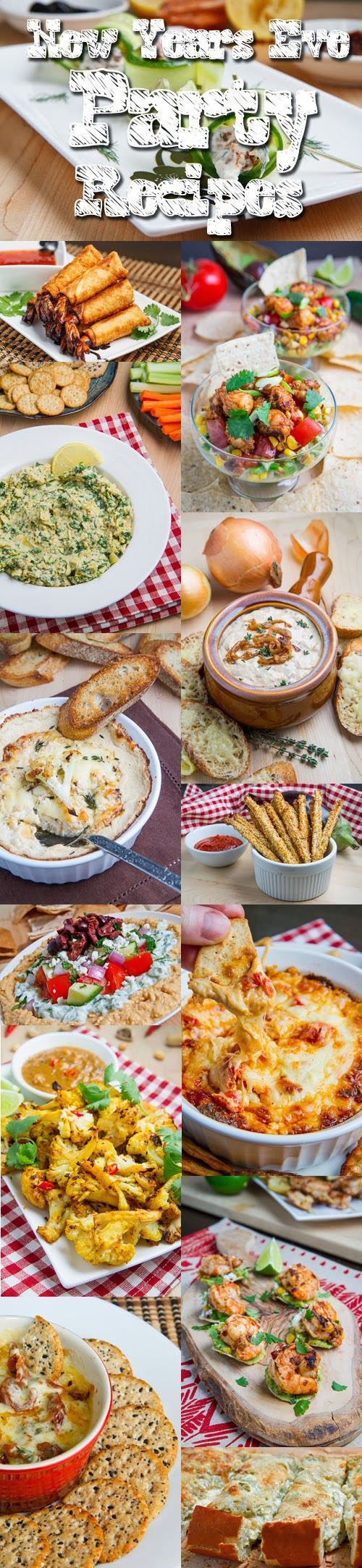 25 amazing appetizers for new years eve newyeareve ideas for Appetizer ideas for new years eve party