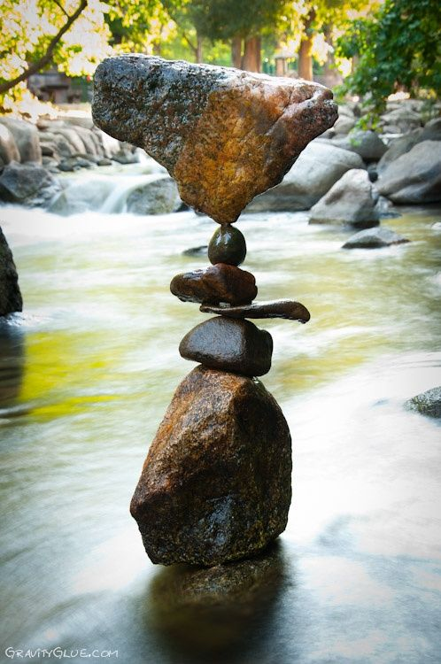 The Art of Rock Balancing by Michael Grab @ gravityglue.com #ad
