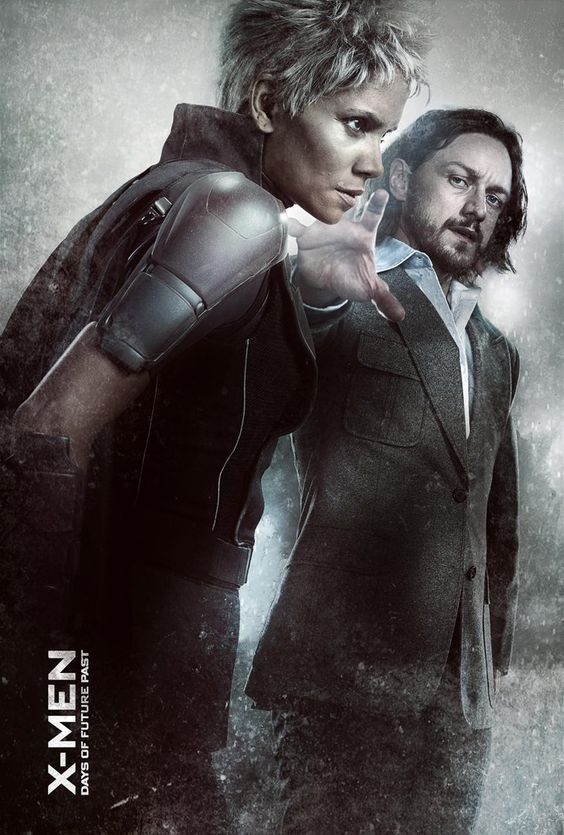 Pin for Later: Do These X-Men Posters Hint at Who's Teaming Up?  Halle Berry as Storm and James McAvoy as Charles Xavier.