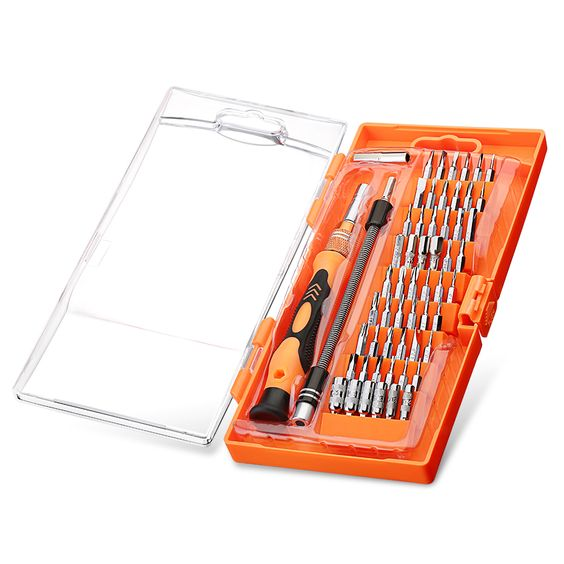 58 in 1 with 54-bit Magnetic Driver Kit Precision Screwdriver Set Cellphone Tablet PC MacBook Electronics Repair Tool Kit