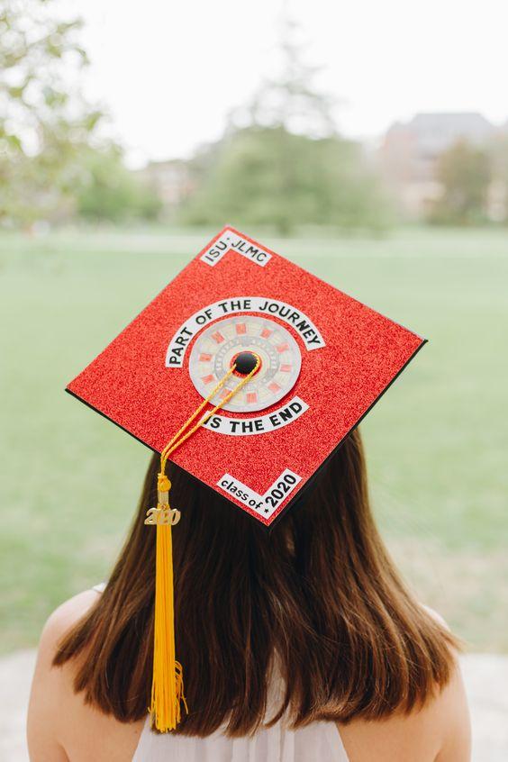 Iron Man Grad Cap Graduation Cap Designs Grad Cap Iowa State University