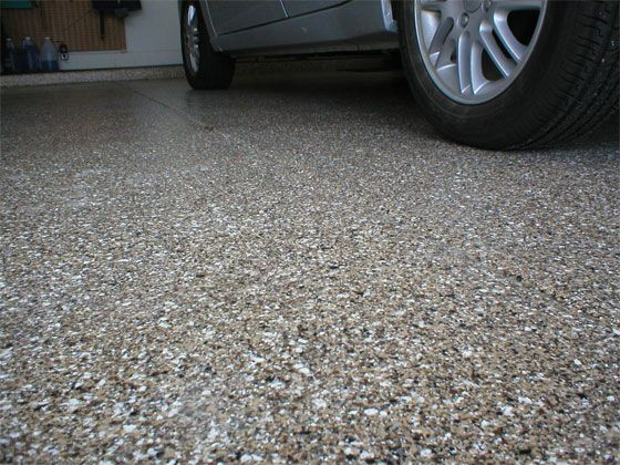 10 things to know before you epoxy your garage dust for How do you clean a garage floor