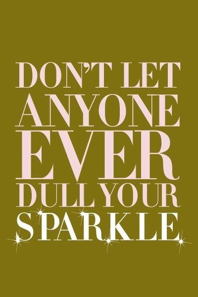 sparkle sparkle sparkle.