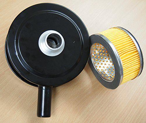 Air Compressor Intake 6 Air Filter Silencer 1 Mpt Paper Cartridge Metal House Compressor Intake Filter Silencer Paper Cartridge Metal House