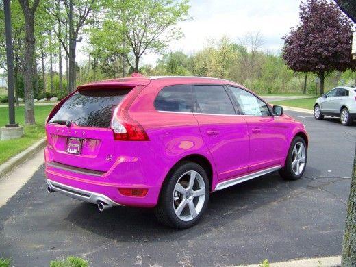 Pink Volvo XC60 | Crazy Colors