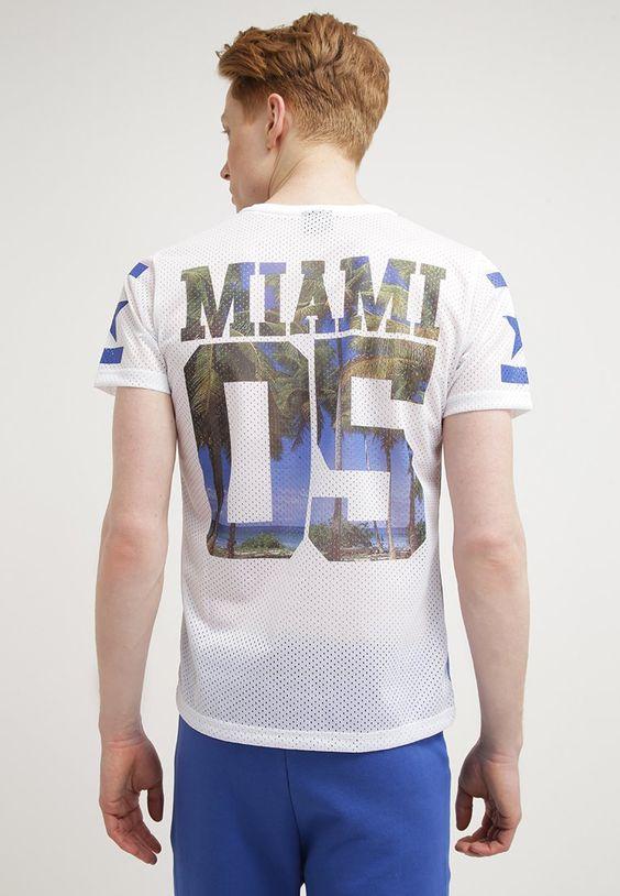 Gola T-Shirt print - bianco - Zalando.de