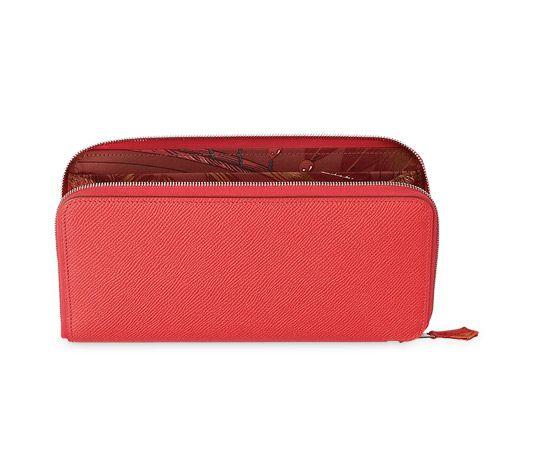 brighton look alike jewelry - Silk\u0026#39;in Hermes wallet in Jaipur pink Epsom calfskin with brick ...