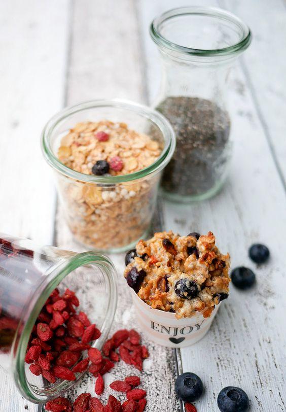 Low Carb Frühstücksmuffins mit Chiasamen - Gaumenfreundin - Foodblog mit gesunden Rezepten