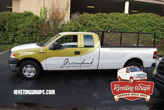 Landscaping Truck Fleet Graphics Like This F150 For A Seattle Land