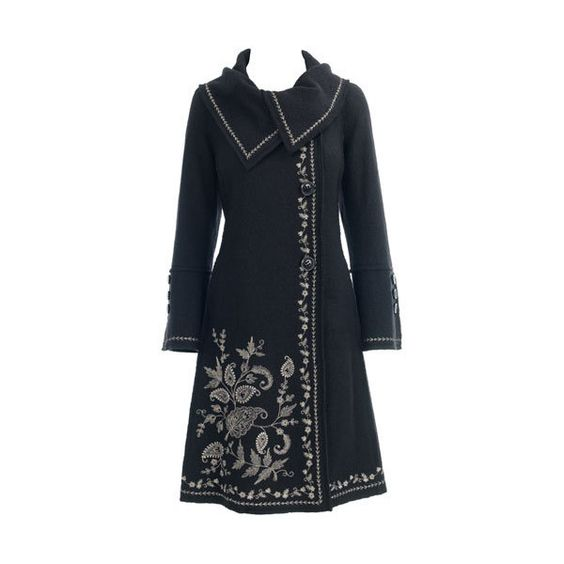 Monsoon accessorize bella embroidered coat liked