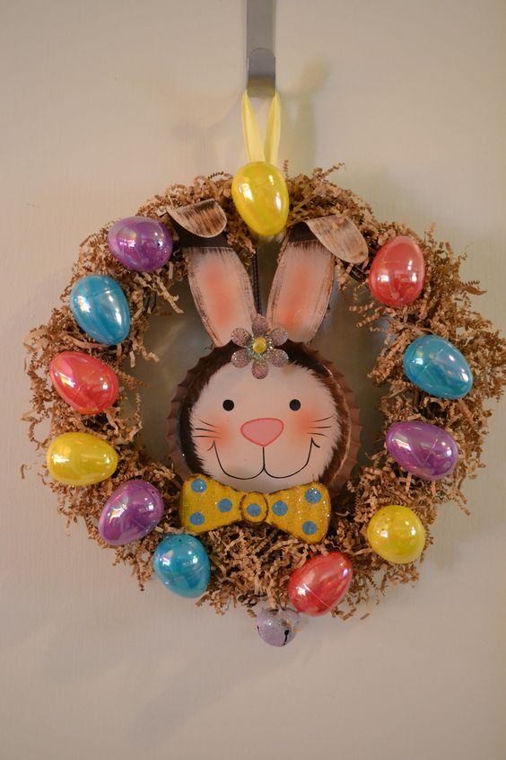 my Easter wreath :)
