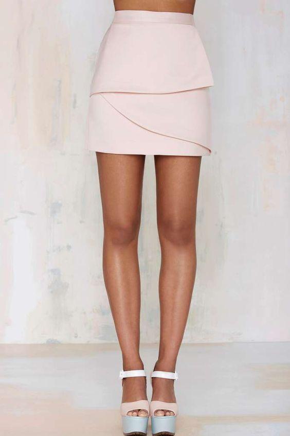 Nasty Gal Raina Layered Skirt - Skirts | Skirts