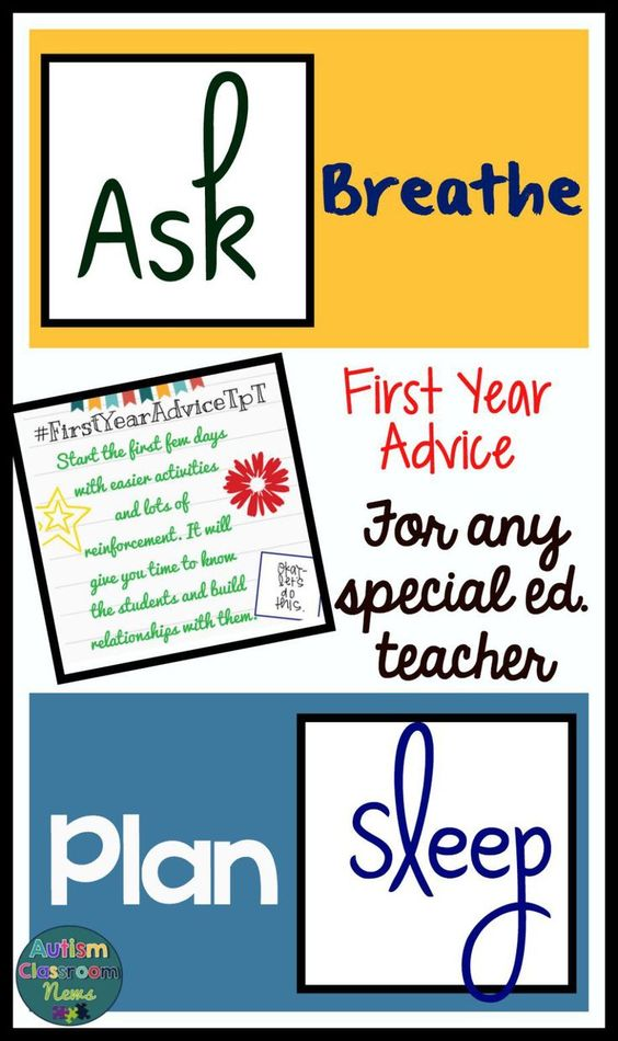 First Year Advice for Any Special Education Teacher