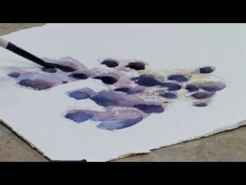 Learn How To Paint Rocks In Watercolor With Professional Artist
