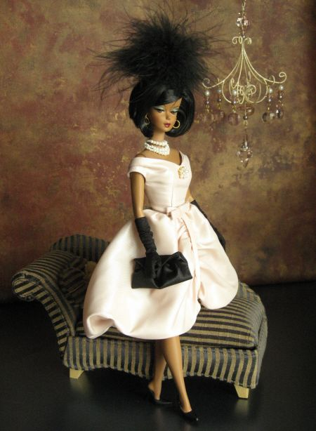 African american barbie looks haute so couture in mattel for American haute couture