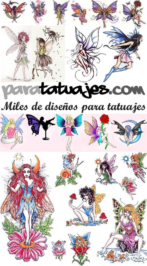 HADAS PARA TATUAJES DE MUJERES  Para Tatuajes
