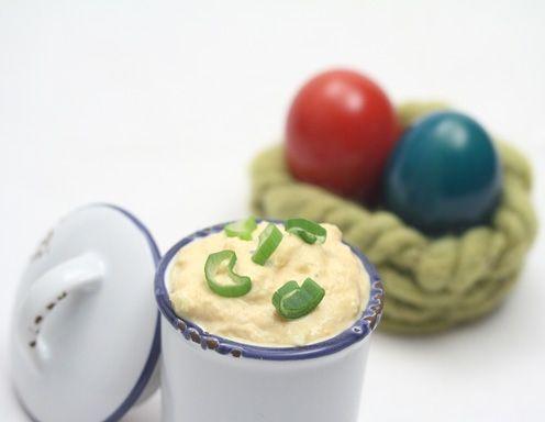 Eiaufstrich Rezept - perfekt nach dem Osterfest.
