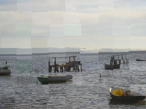 Variaciones en el mar.Mar Menor,Murcia.