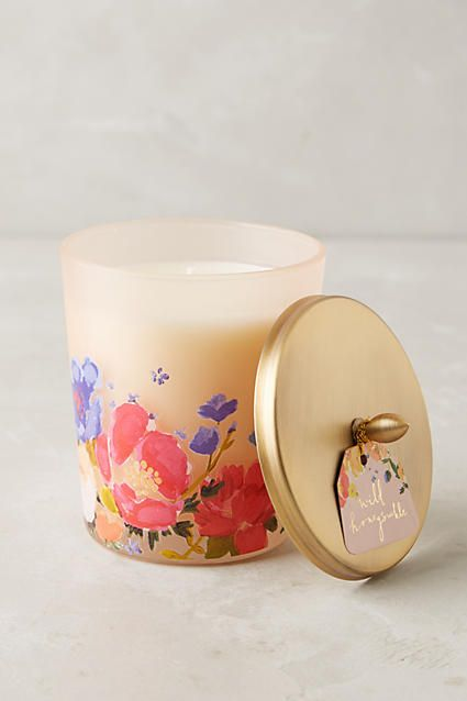 blossoming candle