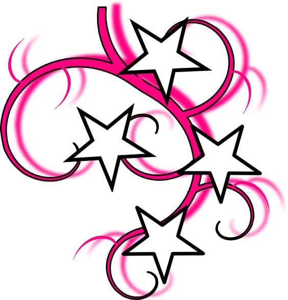 Swirl Art Designs : Simple swirl designs tattoo clip art vector