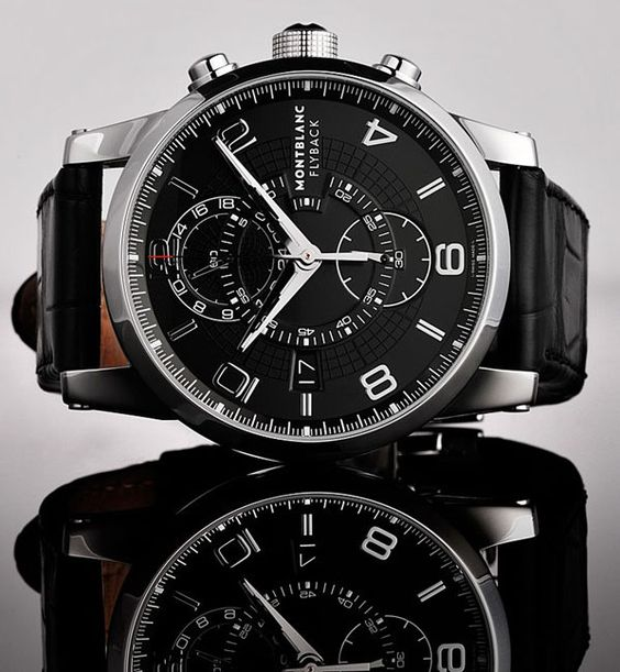 Montblanc Flyback Wristwatch