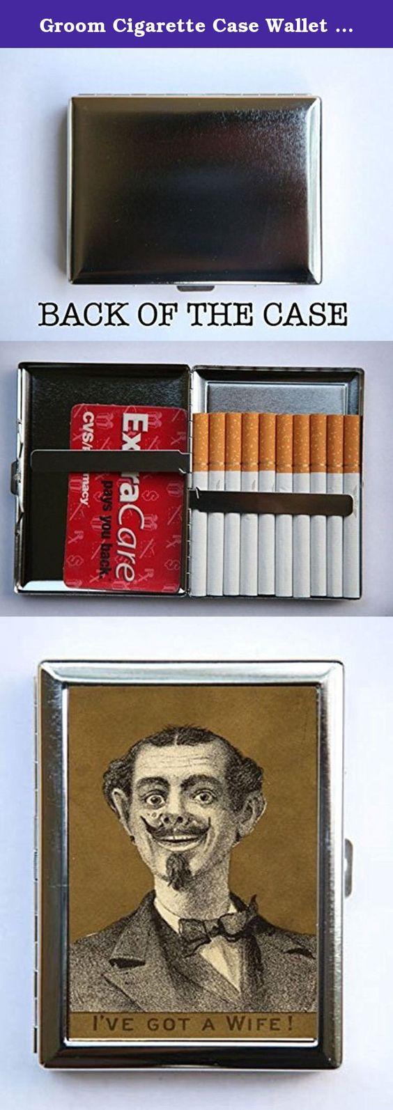 Groom Cigarette Case Wallet Business Card Holder humor Gag ...