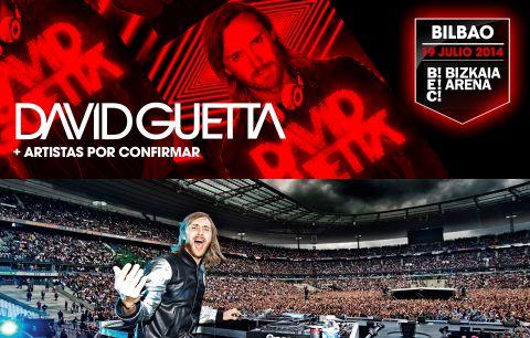 Sorteamos 2 packs de 2 entradas para el concierto de David Guetta del 19 de julio.
