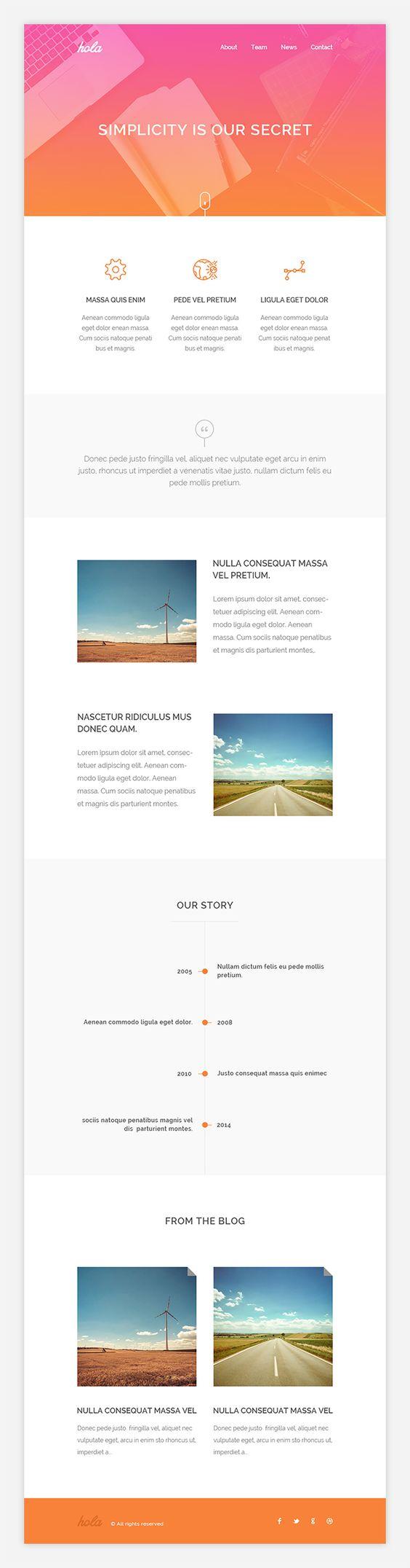 PixelBuddha simple newsletter theme