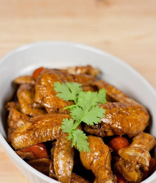 Coca Cola Chicken Wings - Very Easy Dishes @ www.chinesedishesrecipes.com